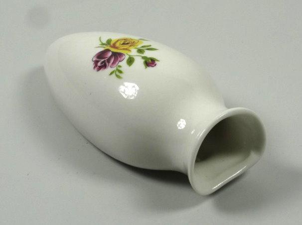 flower vase porcelain vase vw beetle bus van samba beetle vintage white  ebay