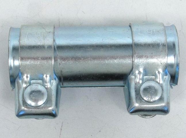 Universal Auspuffverbinder Verbinder Schelle Doppelschelle Ø 43-47,5 mm L =125